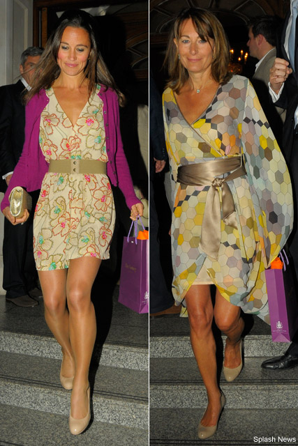 pippa middleton height. Tennis fan Pippa also looked